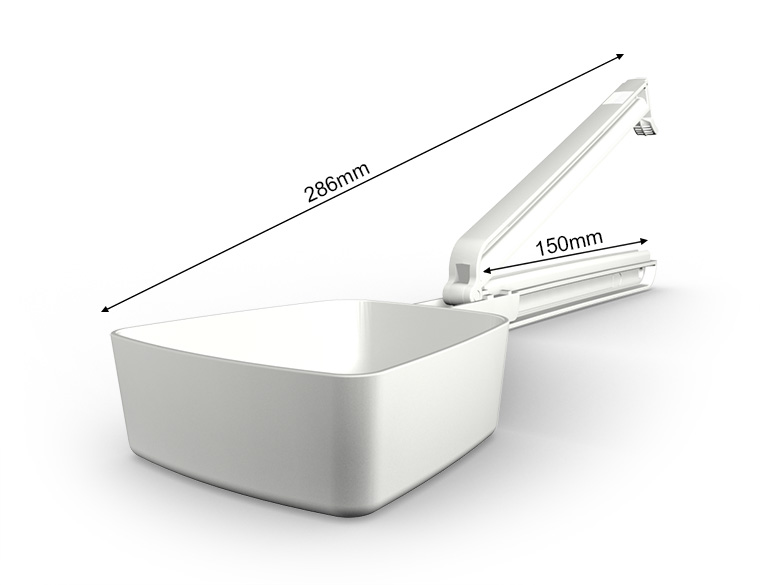WeLoc Scoop PA 150-250 white/white