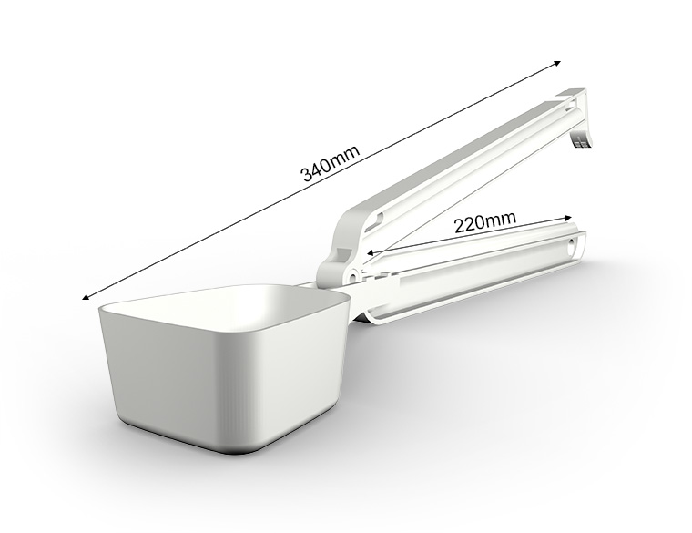 WeLoc Scoop PA 220-110 blanco/white