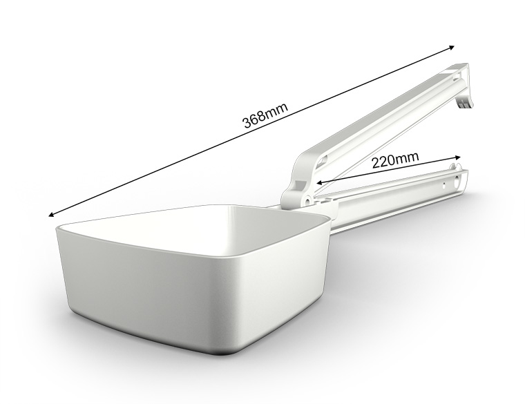 WeLoc Scoop PA 220S-250 blanco/white