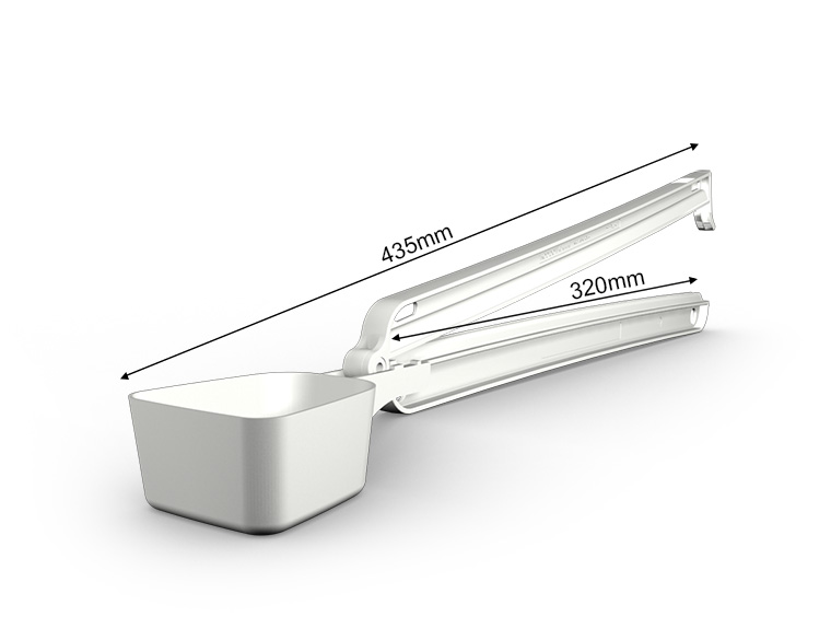 WeLoc Scoop PA 320-110 blanco/white