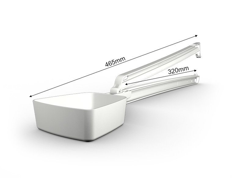 WeLoc Scoop PA 320S-250 blanco/white